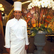 Franck Lafon, chef des cuisines du Café de Paris Monte-Carlo
