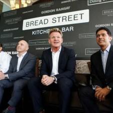 Gordon Ramsay inaugure Bread Street Kitchen & Bar à Hong Kong