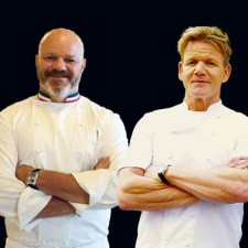 Face à face Gordon Ramsay-Philippe Etchebest