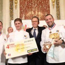 Jérôme Schilling, vainqueur du Challenge Culinaire du Président de la République