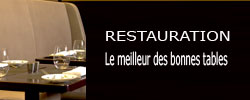 Restaurants a decouvrir