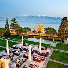 Beau-Rivage Palace   Un hôtel chargé d'histoire   Lausanne