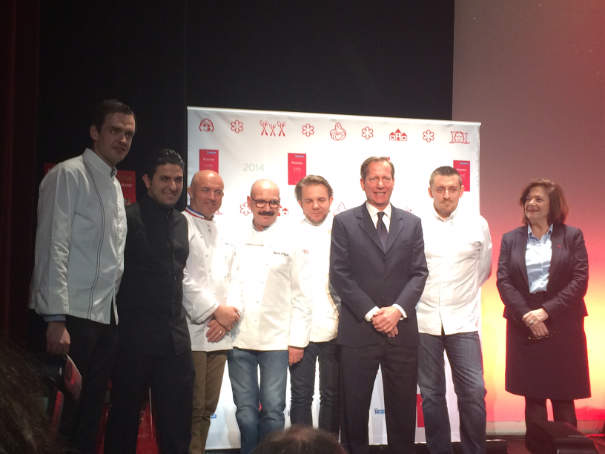 Etoiles Guide Michelin France 2014