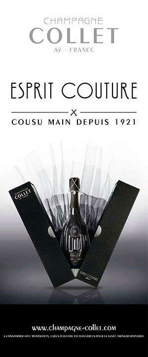 ESPRIT COUTURE-CHAMPAGNE COLLET
