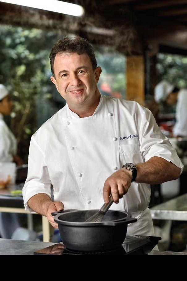 Martin berasategui sublimes saveurs lasarte oria for Cuisinier basque