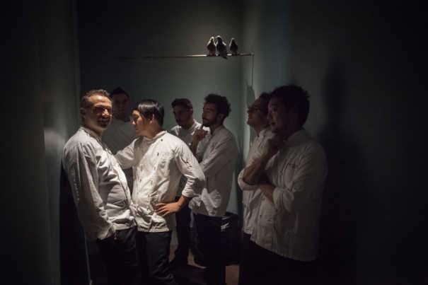 L'équipe de l'Osteria Francescana