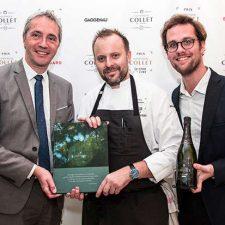 David Toutain présent au Prix Champagne Collet du Livre de Chef