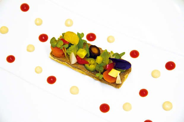 La cuisine de Basile Arnaud